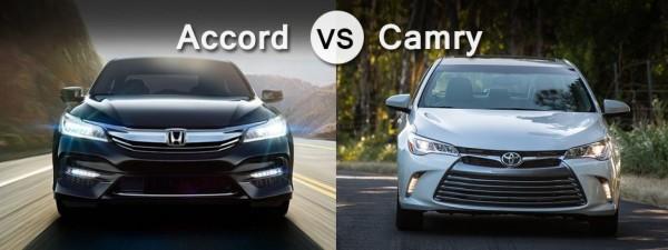 2017 Honda Accord vs. Toyota Camry